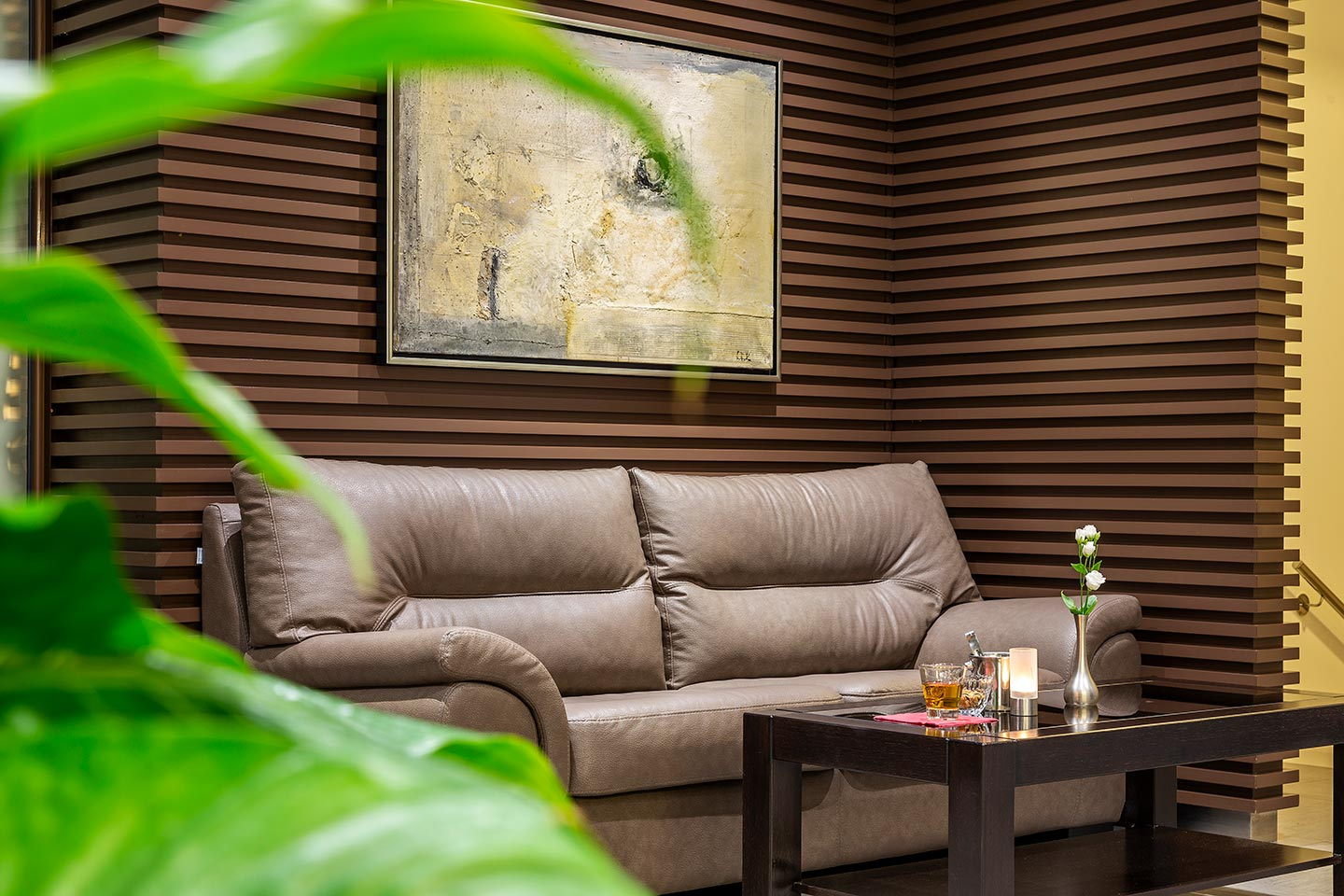 Relax your senses in a stylish and cozy atmosphere